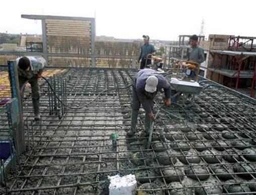 پاورپوینت انواع سقفهای رایج بتنی